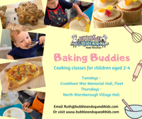 Baking Buddies cooking classes for 2-4ys in North Warnborough, Hampshire