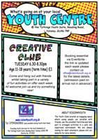 Creative club Free 11-18yrs Yateley