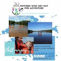Mums & Tots Kayak & Paddleboard - Sandhurst