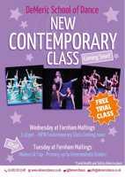 FREE TRIAL - Contemporary Dance - Demeric Dance - Farnham