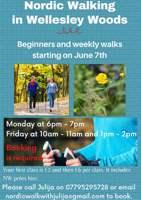 Wellesley Woodlands - Nordic walking group