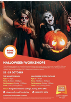 Stagecoach Summer Holiday Workshops (4-6yrs) - The Monster Mash
