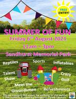 Sandhurst FREE Summer of fun