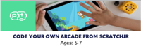 Code an Arcade Game Holiday camp - Code Ninjas Wokingham 5-7yrs
