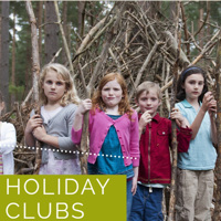 Wonderwood Forest school Holiday club - Farnham