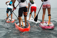 Family Paddleboard lessons - Winchfield