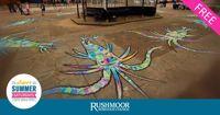 Free - Super Summer Saturdays - Under the Sea pavement art