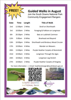 Free Guided walk - Foraging and Folklore on Longmoor