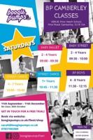 Street Dance class 4-7yrs - Boogie pumps Camberley