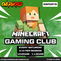 Kids Minecraft Gaming Weekend Clubs - Camberley