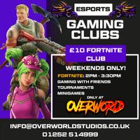 Kids Fortnite Gaming Weekend Clubs - Camberley