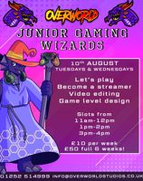 Junior Gaming Wizards - Create a Let's Play - Camberley