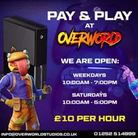 Esports Pay and Play Gaming on Xbox or Play station - Camberley