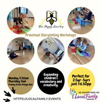 Bee Happy Learning Storytelling Workshops – Frimley Green