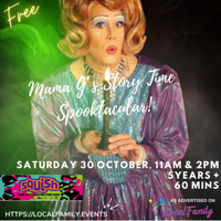 Free Squish Mama G's Story Time Spooktacular Show - Camberley