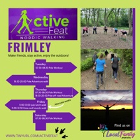 Rise and shine Nordic Walking Pole Workout - Frimley