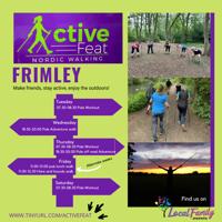Off road adventure Nordic Walk - Frimley