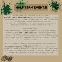 Leaf crafts and Storytime - Farnham