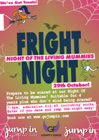 Fright night  - GRAVITY FORCE Trampoline sessions for 4yrs+ - Camberley