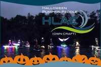 Halloween Pumpkin Paddle (Own craft)