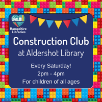 Free Construction Club - Aldershot Library