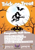 Pumpkin Carving and Trampoline sessions - Camberley