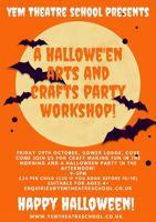 YEM Theatre School Halloween Party theatre workshop - Farnborough