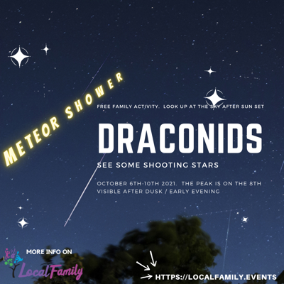 Image of Astronomy focus - Draconids Meteor shower
