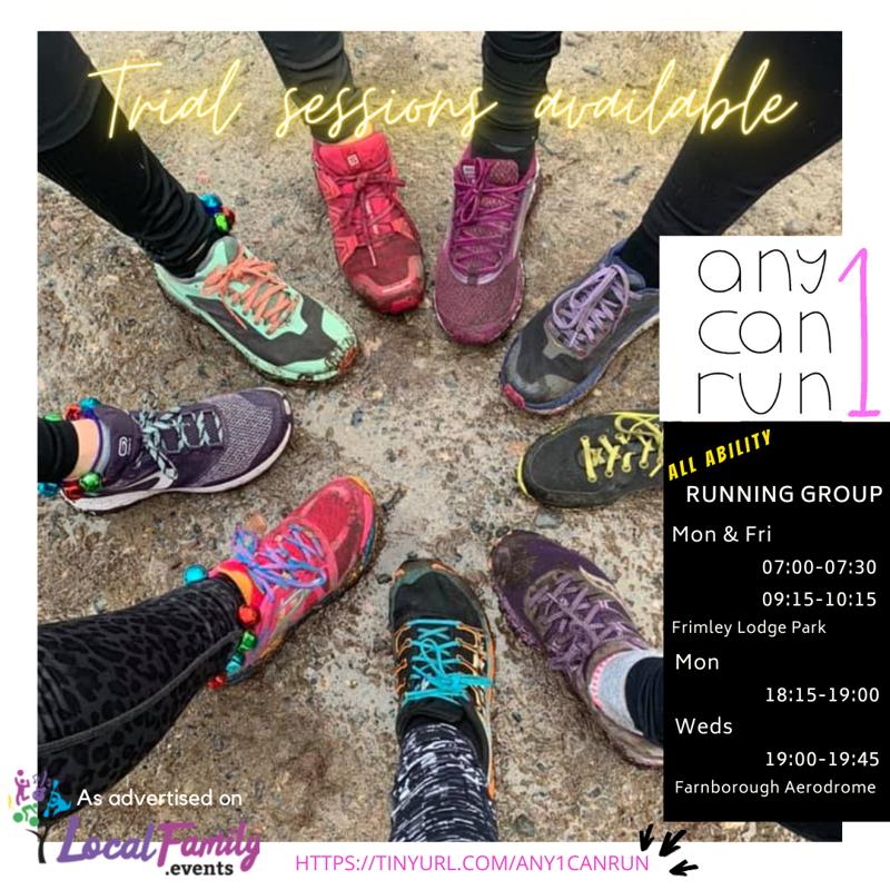 Any1canrun beginner run poster