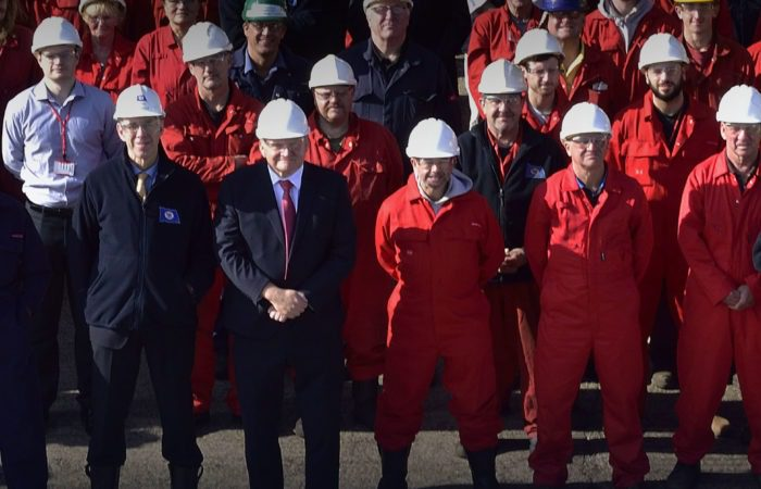 Cammell Laird workers