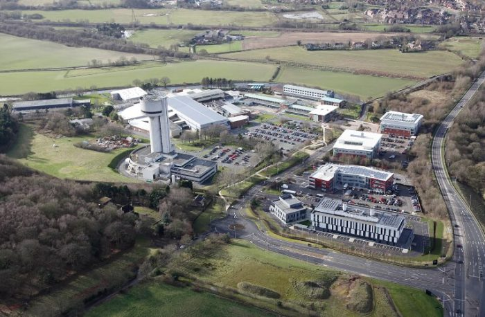 Sci-Tech-Daresbury from above