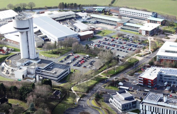 Sci-Tech Daresbury from the air