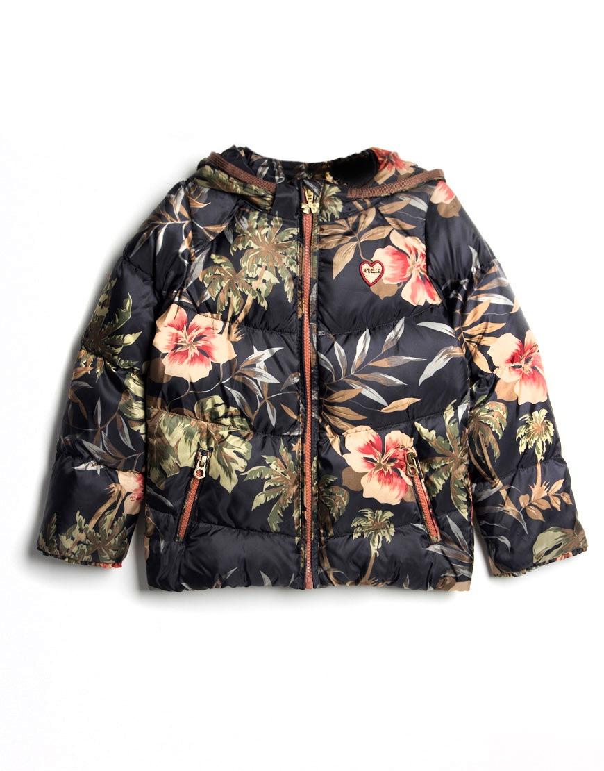 scotch r 39 belle meisjes jas basic down jacket hawaii brown. Black Bedroom Furniture Sets. Home Design Ideas