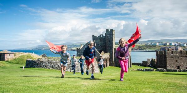 Viking heritage at Peel Castle