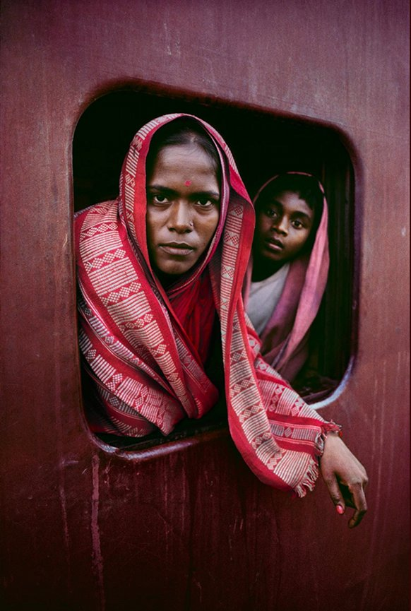 Bengali woman and child, West Bengal, India 1982