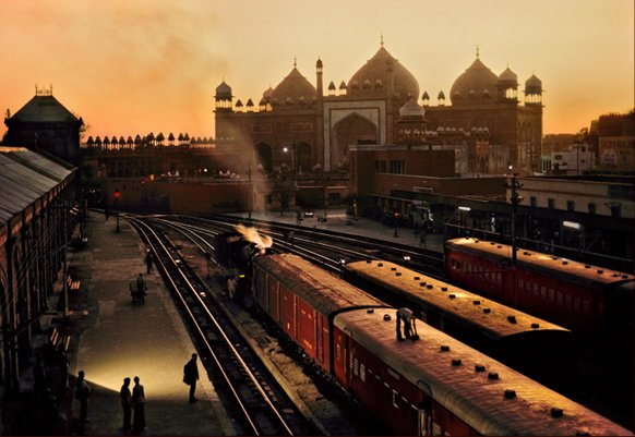 Train Station, Agra, India, 1983