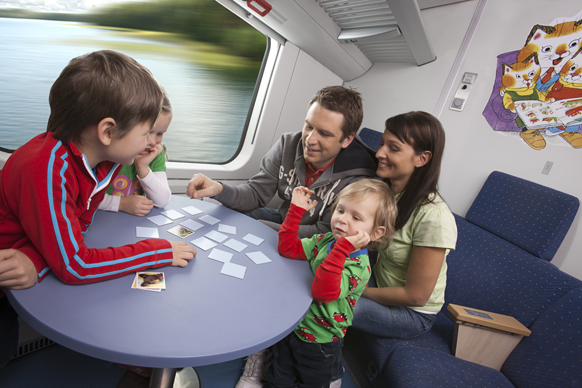 playing game train