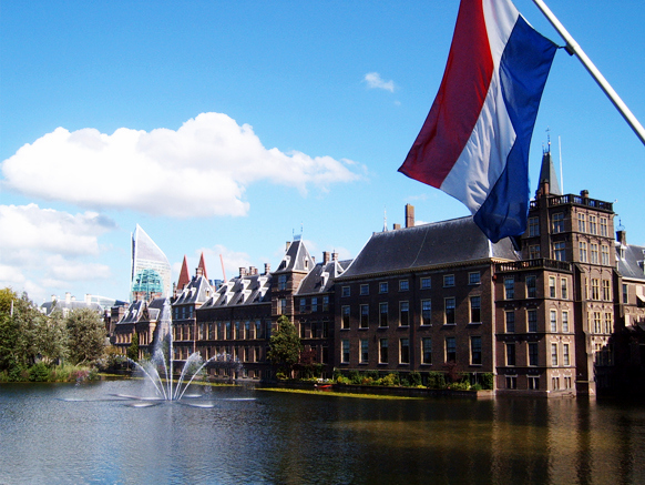 The Hague Binnenhof - day trips from amsterdam by train