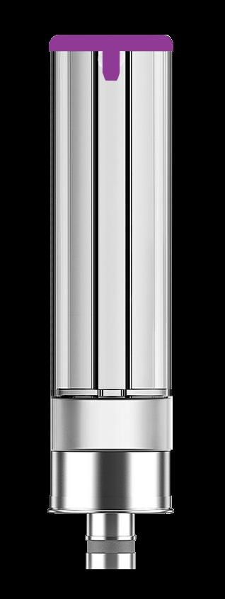 Logic PRO berry mint flavour e-liquid capsule