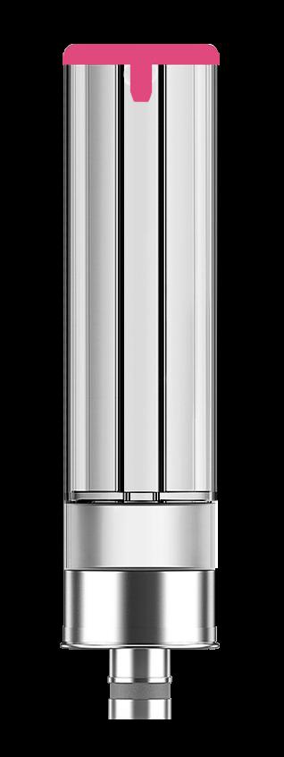 Logic PRO strawberry flavour e-liquid capsule