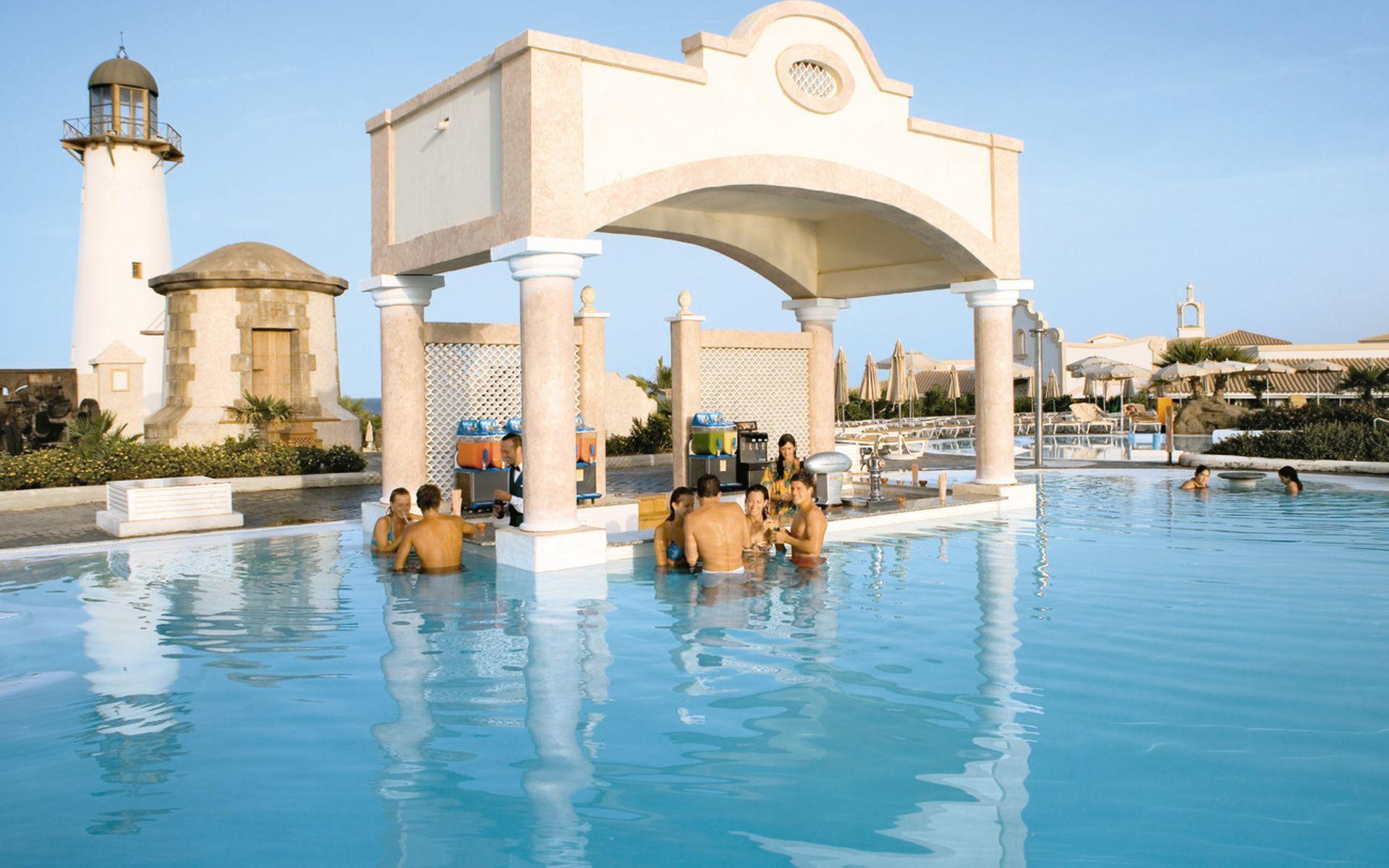 Acceso Playa Hotel Riu Chiclana