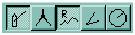 Loiston työkaluja, suuntima, harppi, reititys ja automaattireititys.