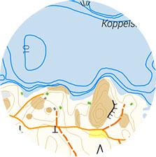 Pyöreä kartta