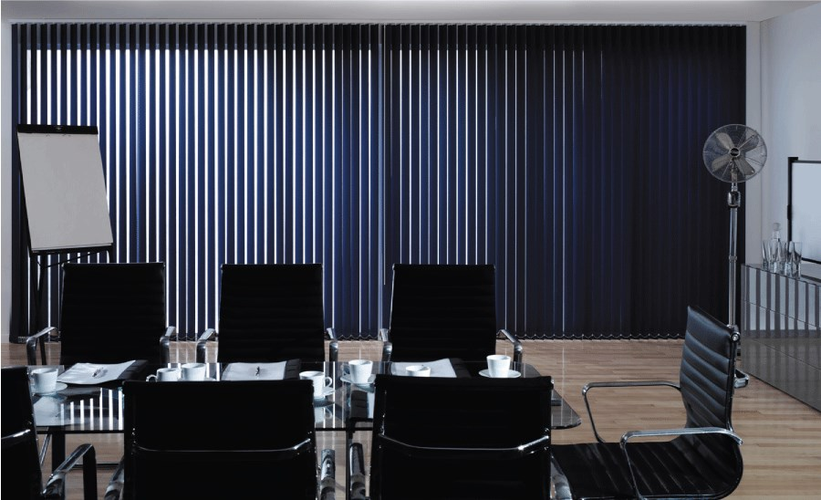 Charming Vertical Blinds Office