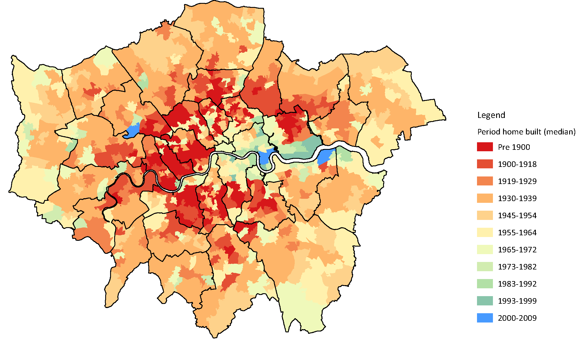 London Datastore - London map 1945
