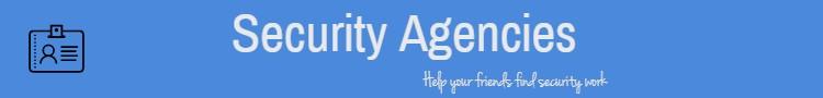 security recruitment agencies
