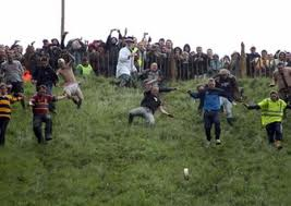 escaping London Cheese rolling