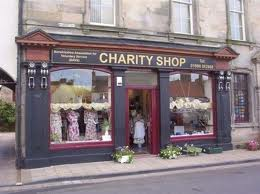 charity shops in London