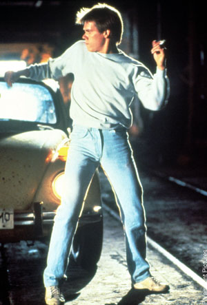 weird laws in London, Kevin Bacon in Footloose
