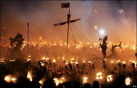Escaping London Up Helly AA